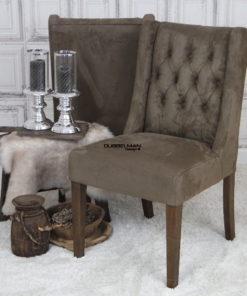 eetkamerstoel-stoelen-bruin-suede-leatherlook-chesterfield-knopen-eric-kuster-dubbelman-design