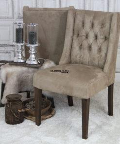 eetkamerstoel-stoelen-beige-suede-leatherlook-chesterfield-knopen-eric-kuster-dubbelman-design