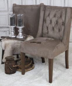 eetkamerstoel-stoelen-taupe-suede-leatherlook-chesterfield-knopen-eric-kuster-dubbelman-design