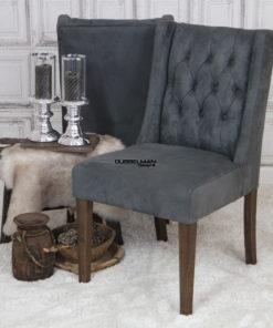 eetkamerstoel-stoelen-grijs-suede-leatherlook-chesterfield-knopen-eric-kuster-dubbelman-design