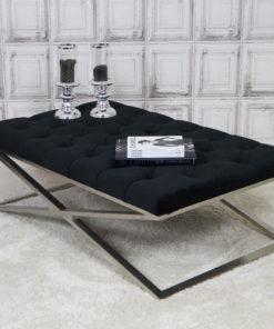 luxe-salontafel-stainless-steel-zilver-velours-zwart-eric-kuster-dubbelmandesign-gecapitonneerd-knopen-luxury-living-lifestyle