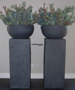 zuil-antraciet-beton-pot-amber-pot-grijs-pilaar